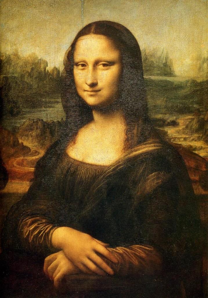 Mona Lisa, Louvre.