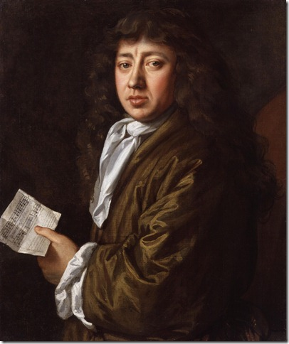 Samuel Pepys by John Hayls. 1666. National Portrait Galley