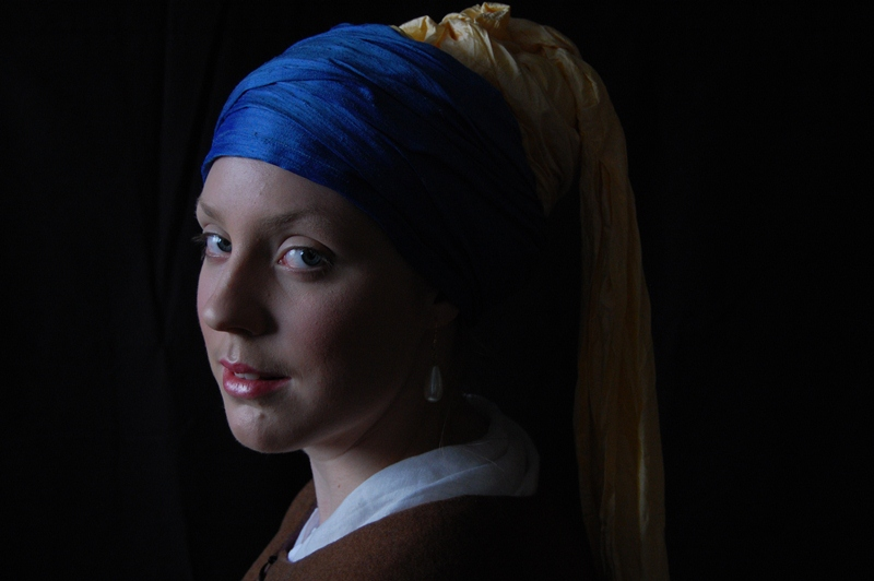 Girl with a Pearl Earring, costume Pauline Loven