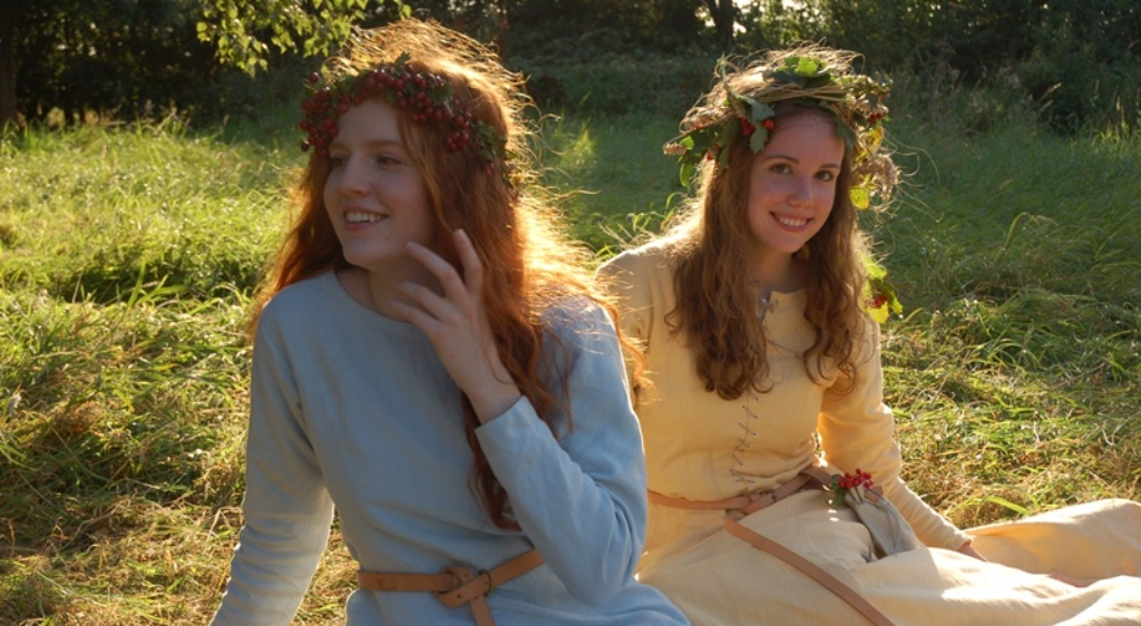 The Luttrell Psalter film. Costumes by Pauline Loven