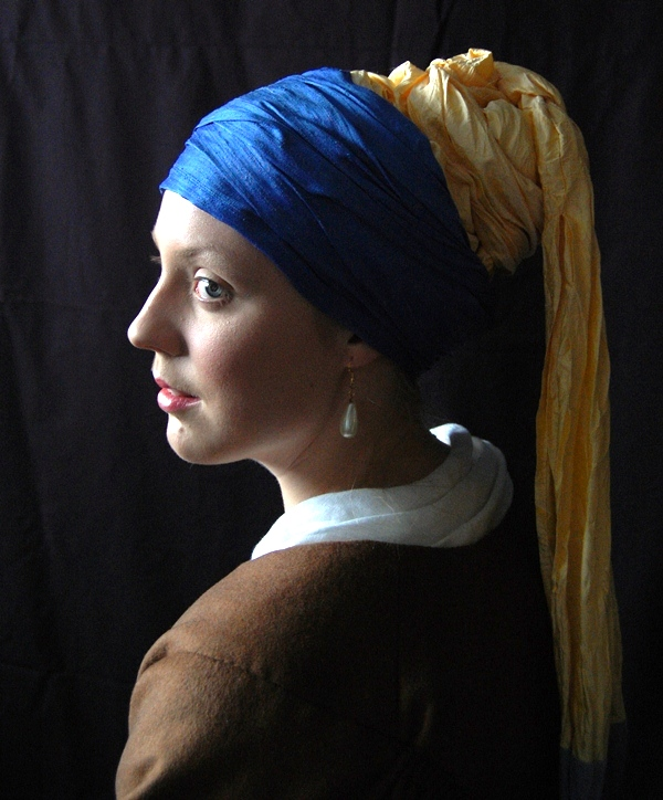 Girl with a pearl Earring b