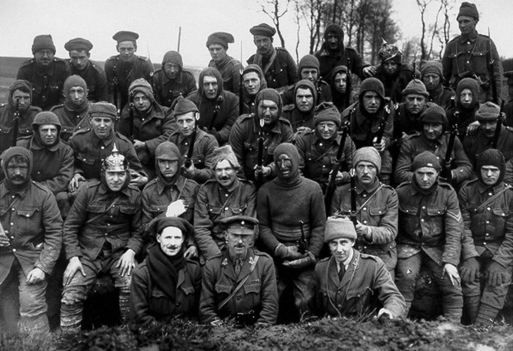 King's Liverpool Regiment, 55th Division, at Wailly, France
