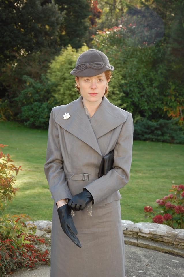 1930's linen suit